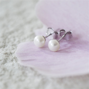 Freshwater Pearl - Stud Earrings