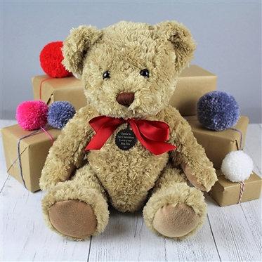 bramble bear gift soft toy