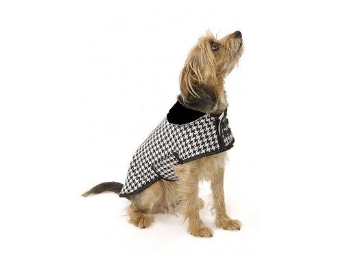 houndstooth dog coat