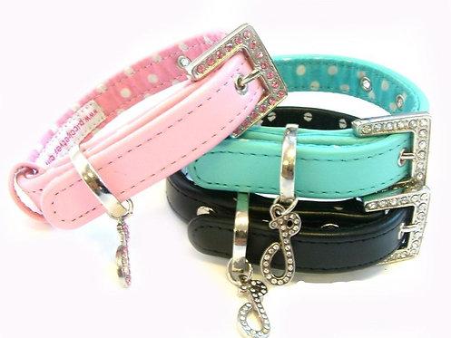 handmade leather dog collar