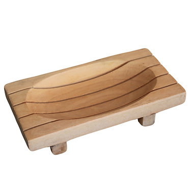 soap stand grid drainer wood