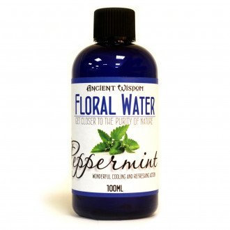peppermint essential flower water
