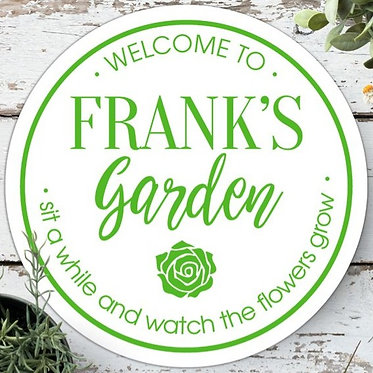 pretty garden signs