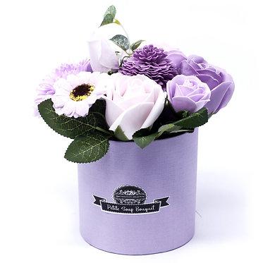 purple lavender soap bouquet