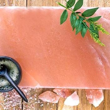 Rock salt cooking plate 8 x 8 x 2in