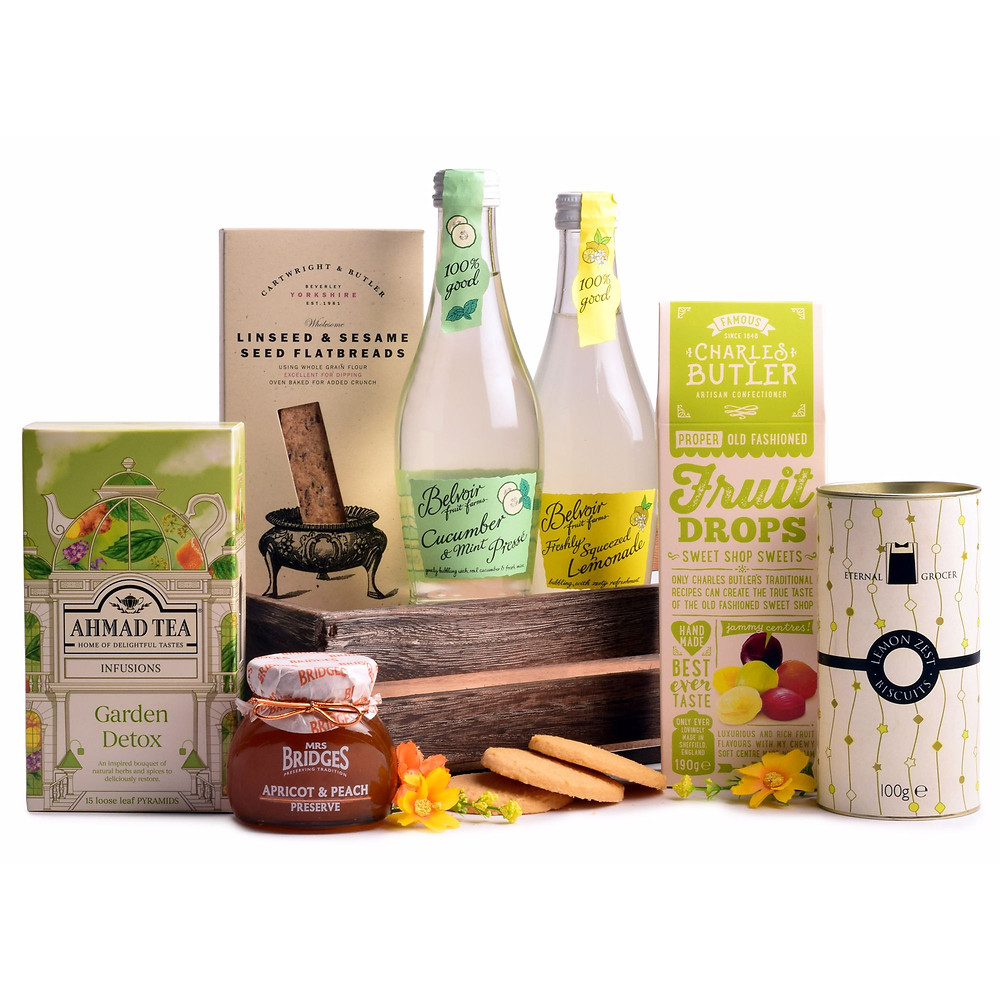 alcohol free hampers