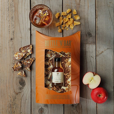 toffee apple moonshine and chocolate gift set