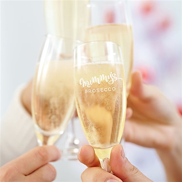 Mums Prosecco Crystal Flute