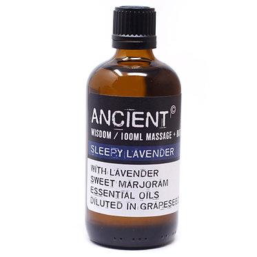 lavender massage and bath oils