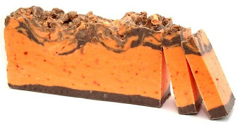 orange and cinnamon artisan soap