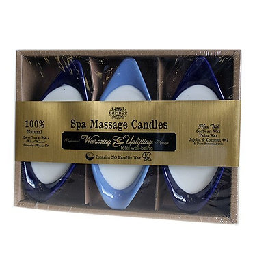 warming and uplift massage candle