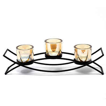 stylish three tealight holder