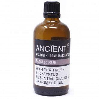 massage scalp oil rub