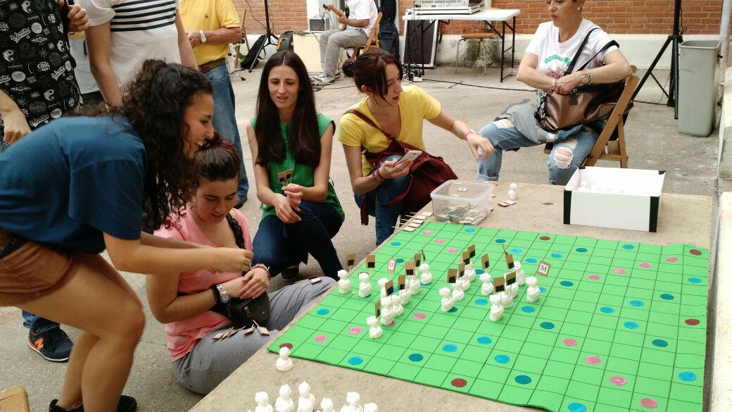Scrabble Indignado en Azuqueca