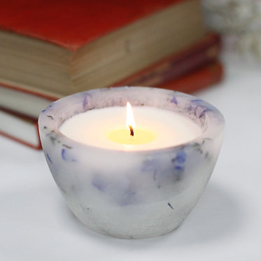 lavender field enchanted candle