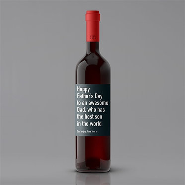 fathers day best son red wine