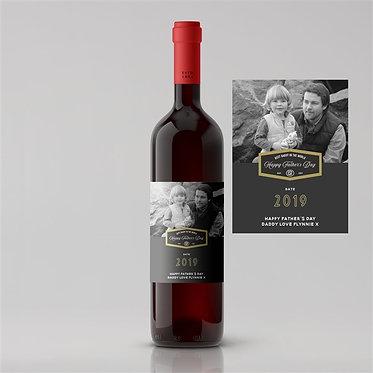 photo label personalised wine rioja malbec shiraz