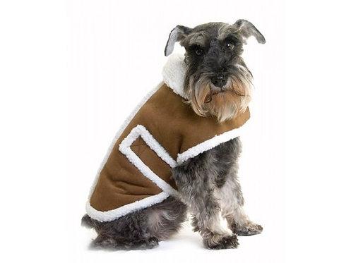 faux sheep dog coat