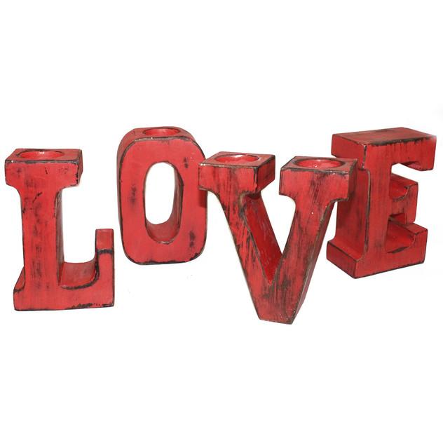 redwash colour love big letters