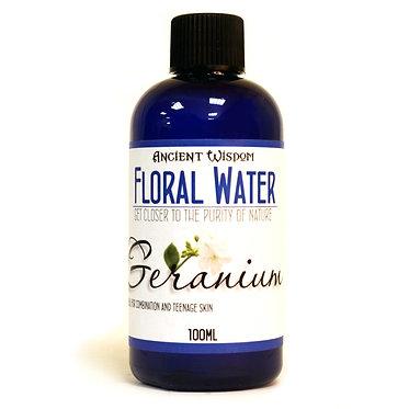 essential flower water geranium