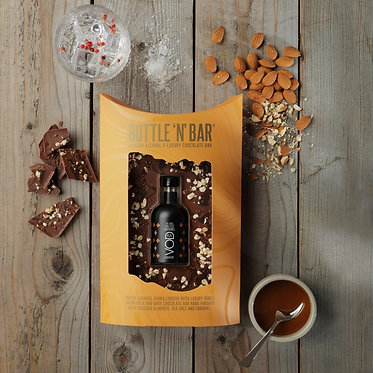 caramel vodka and chocolate gift set
