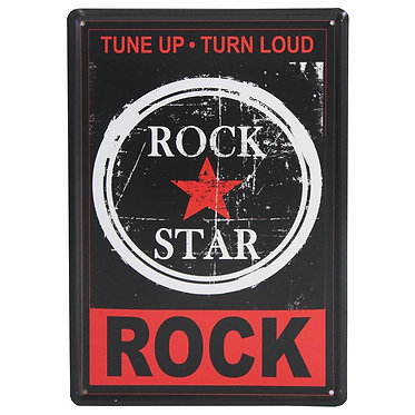 Rock Star bedroom sign
