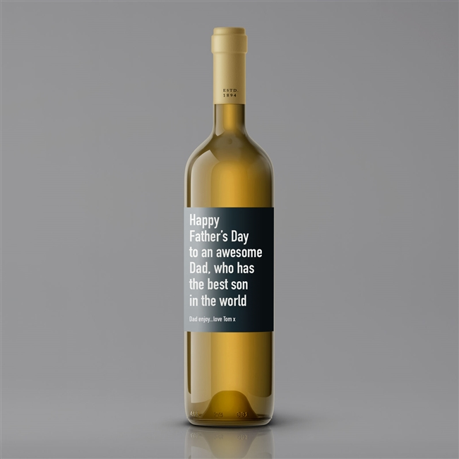 Father's Day Wine - WHITE/RED