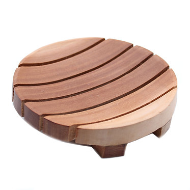 modern soap stand wooden
