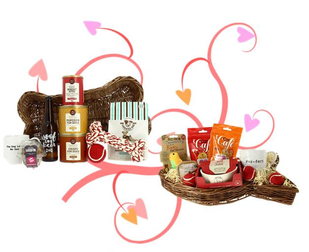 gourmet pet gift hampers