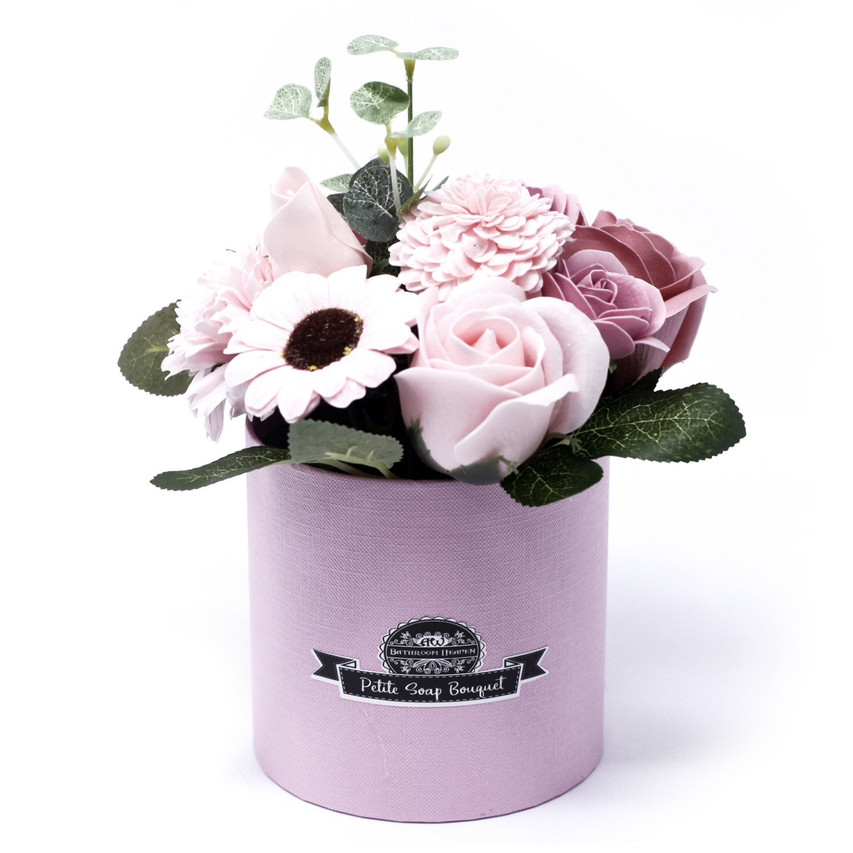 Peaceful Pinks - petite gift pot 1