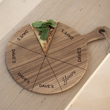 fun game oak pizza paddle