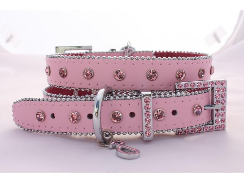 Monte Carlo Collar Powder Pink