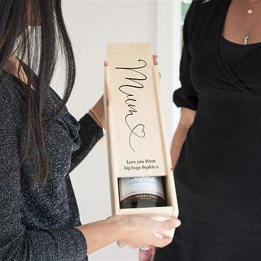 wine box for mum