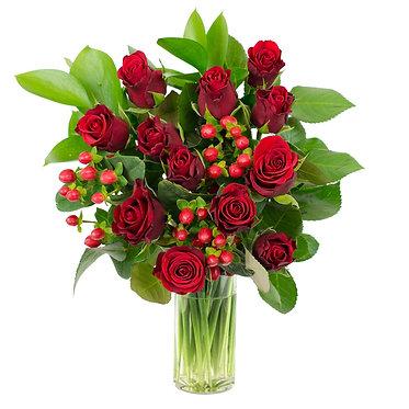 valentines rose bouquet