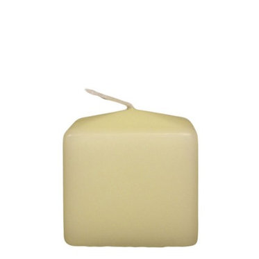 cube candle white