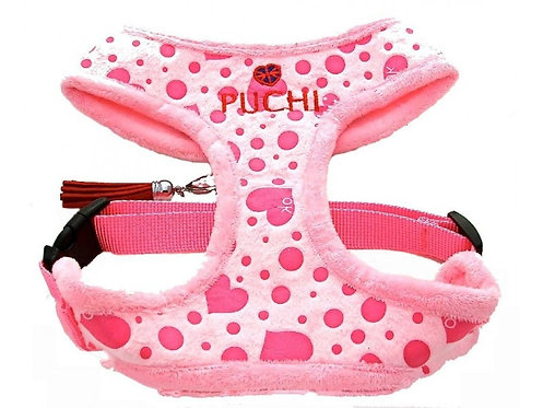 heart dog harness