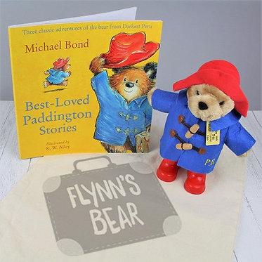 Paddington bear and book