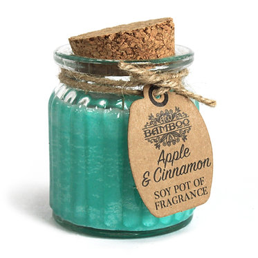 cinnamon apple candle