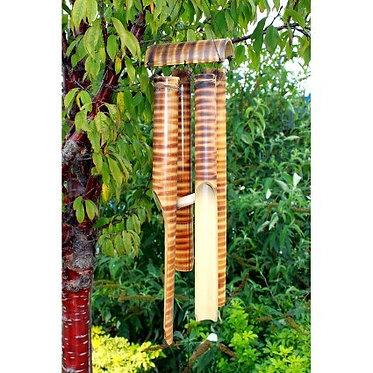 4 chime bamboo windchime