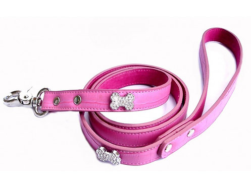 clear crystal leash