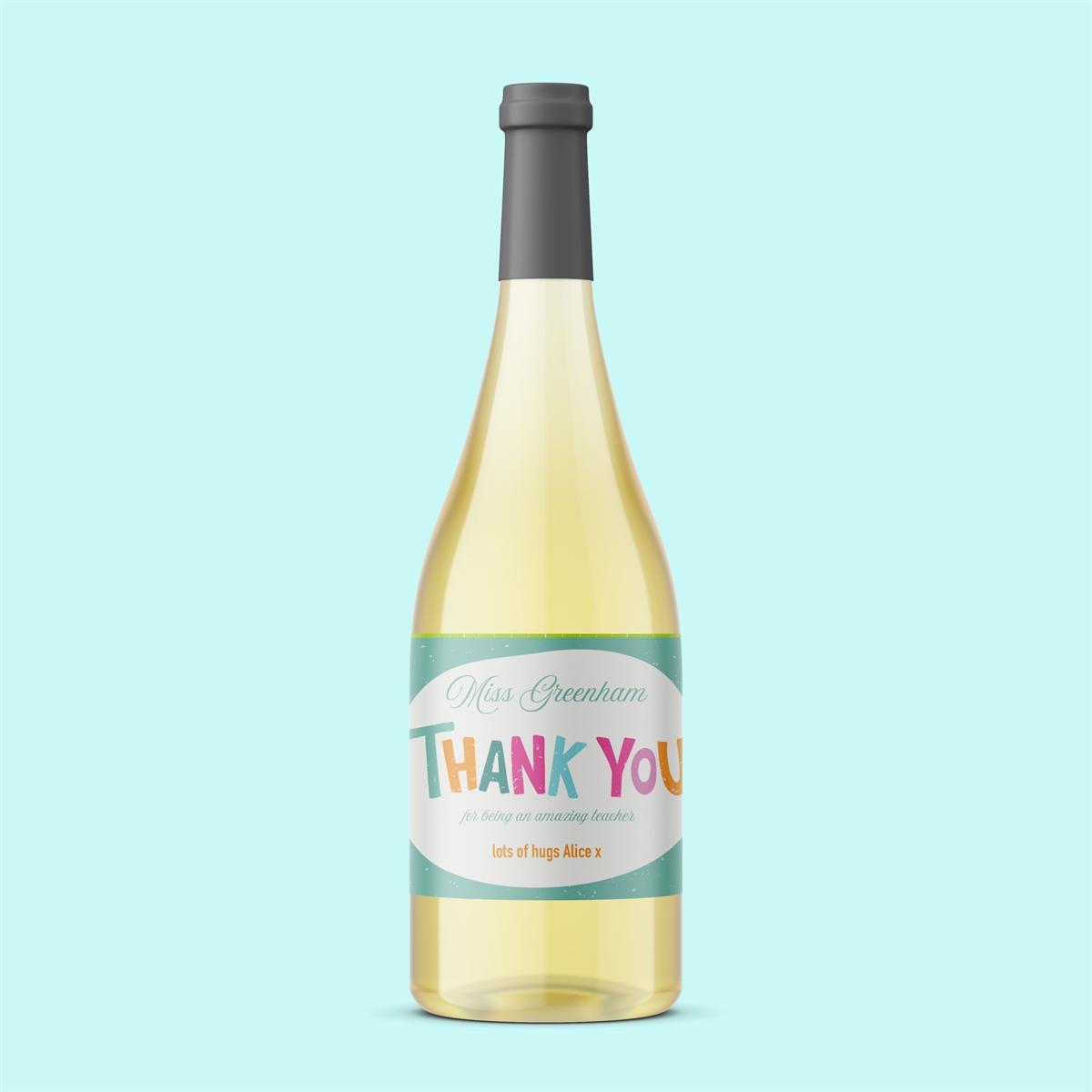Teacher 'Thank You' Wine