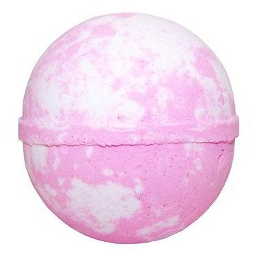 raspberry bath bomb