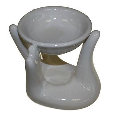 ceramic hand oil burner