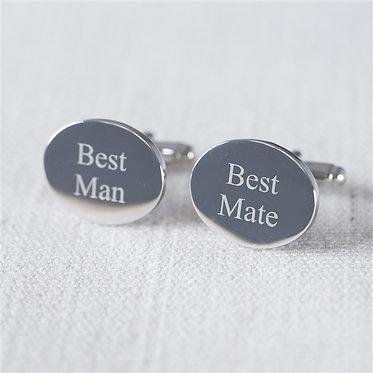 best mate and best man cufflinks