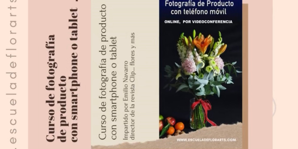 Curso de Fotografía de producto (sesión 2)