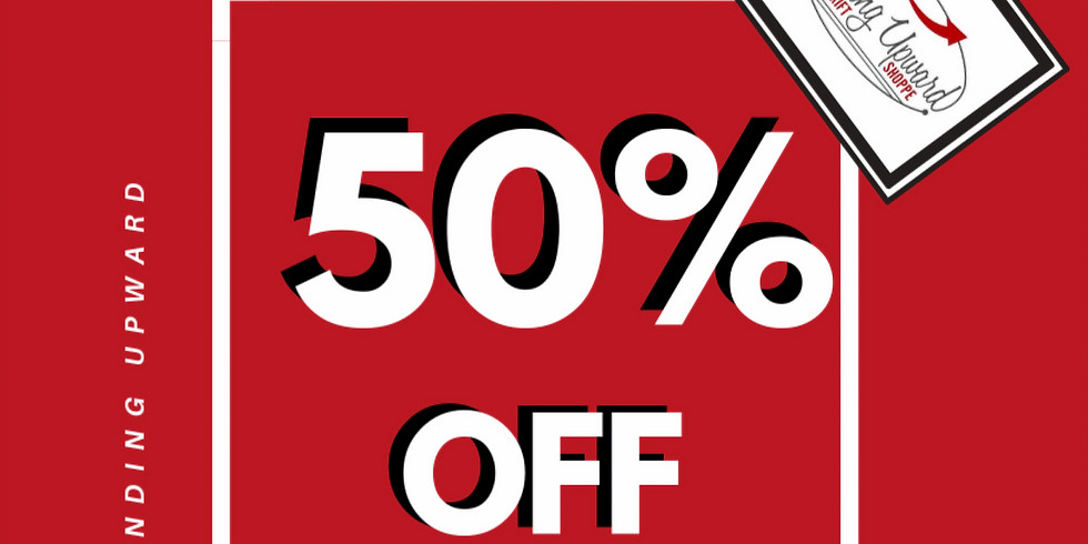 nov 3-7 | 50% OFF RED TAGS