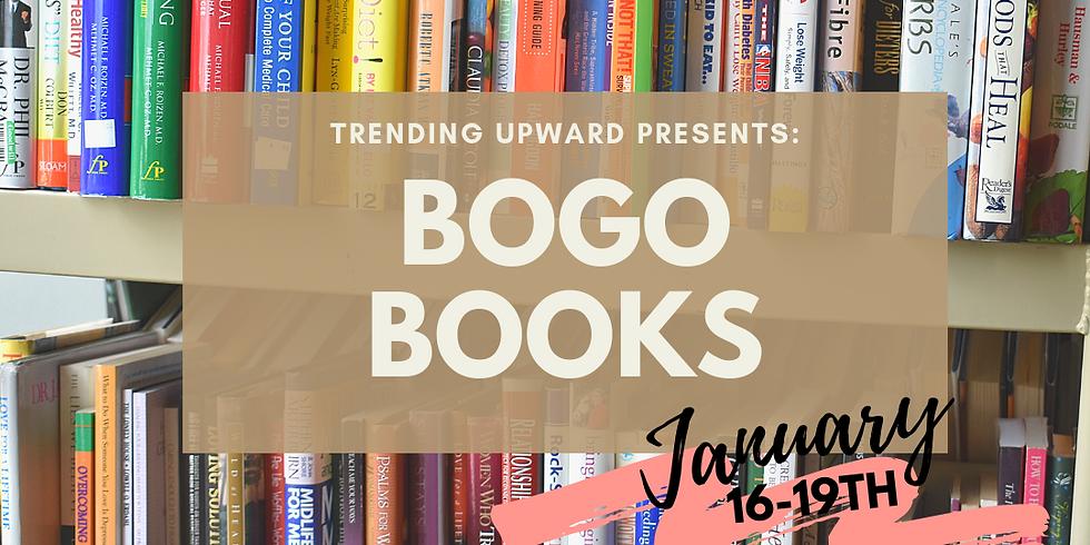 Jan 16-19 BOGO books