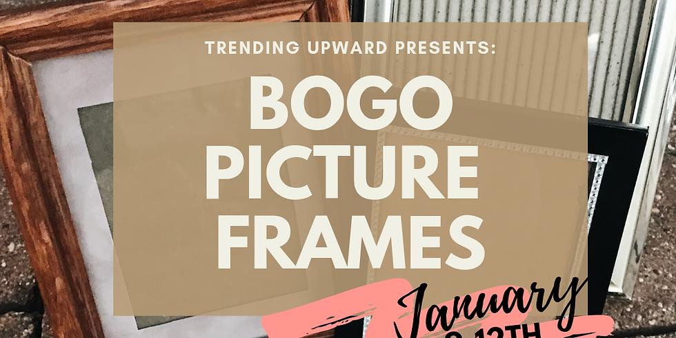 Jan 9-12 BOGO picture frames