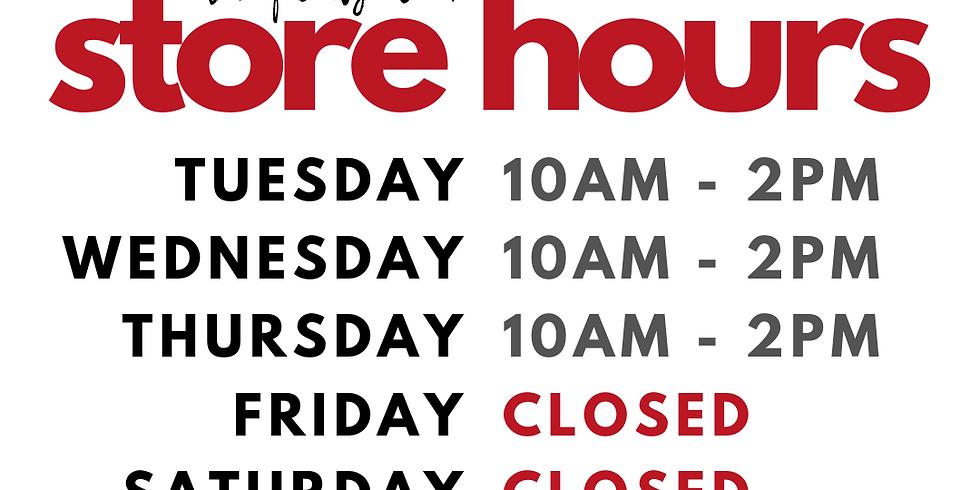 june 30 - july 4 | 4th of july week hours