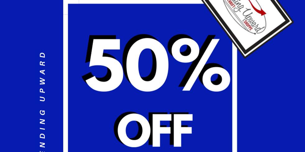 mar 30 - apr 3 l 50% OFF BLUE TAGS